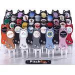 Pitchfix[피치픽스] 자동보수기 클래식 모델 GF2303 12가지 색상, 초경량 항공 알루미늄, 안전한 휴대, 볼마커, 골프채 지지대, 최상의 품질