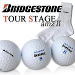 [브릿지스톤]BridgeStone 2피스 골프공+골프 양말 셋트
