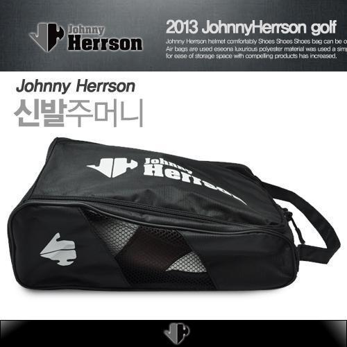 [JohnnyHerrson]조니헤르슨 신발주머니/항공커버 소재/풀오픈 지퍼타입/좌우측메쉬소재/무료배송