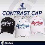 [Cleveland] 한국클리브랜드정품 CONTRAST CAP/콘트라스트 모자/3가지 색상