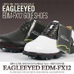 이글아이드 정품 EAGLEEYED EDM-FX12 천연가죽 남성용 골프화