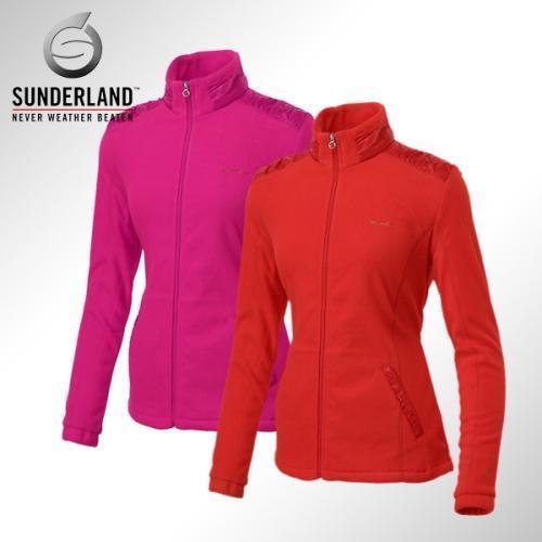 [Sunderland Of Scotland] 선덜랜드 여성 풀집업 인웨어/아웃웨어 셔링 폴라폴리스 자켓 - 16342WB01