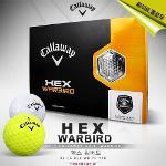 [캘러웨이코리아정품]2013년 HEX WARBIRD 헥스 워버드 골프공 2피스