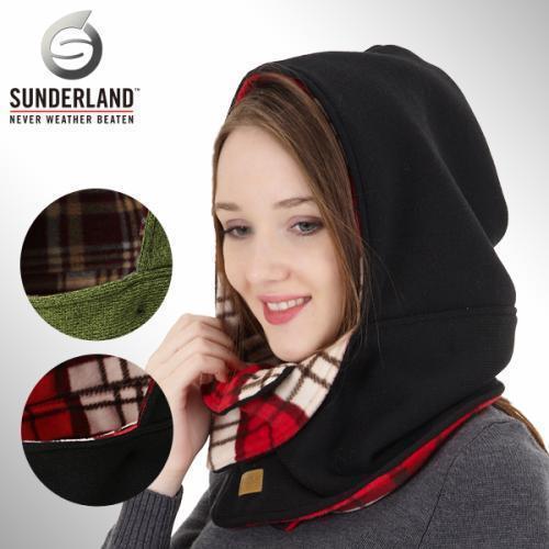 [Sunderland Of Scotland] 선덜랜드 남성 겨울 방한 양면 목토시 겸용 두건 모자 - 16341GE40