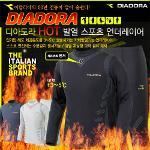 [80%할인]디아도라/인아웃/히즐[코오롱정품원단] 발열내의/발열이너웨어 [체감온도+5도] 상하세트