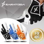 [3장1세트] 사라토가 남성 Digital Skin 컬러 골프장갑(RX+양가죽)