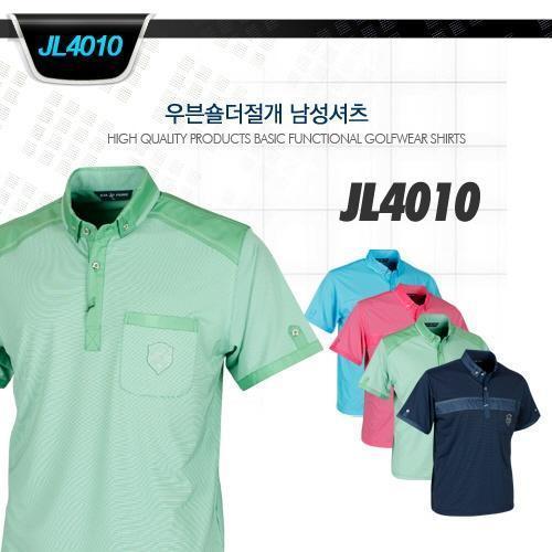 우븐숄더절개 남성셔츠 style No_JL4010