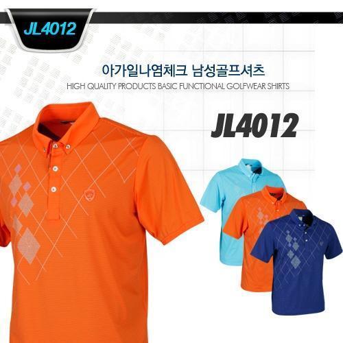 아가일나염체크 남성골프셔츠 style No_JL4012