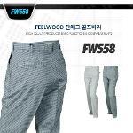 FEELWOOD 잔체크 골프바지 style No_FW558