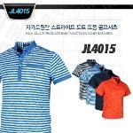 자가드원단 스트라이프 도트 모음 골프셔츠style No_JL4015