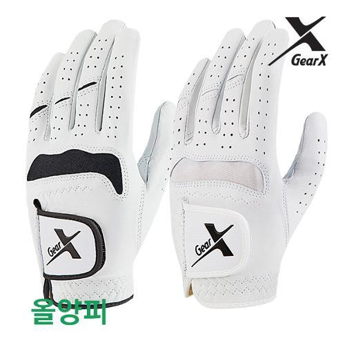 [기어엑스]골프장갑-남자 여성 천연양피 2장