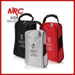 엠알씨골프 MRC GOLF 캐릭터로고 하프망사 퀄팅무늬 고급형 골프화가방/신발주머니 - GSB-1101