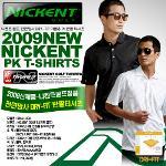 [원가한정판매]NICKNET 니켄트 골프 전면망사 DRI-FIT 100% 사방스판 여름용 PK 반팔티셔츠(최첨단원단)