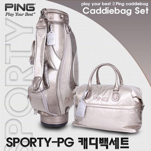 핑 CB SPORTY-PG 캐디백세트 골프백세트