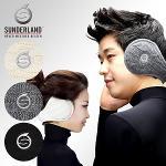 [Sunderland Of Scotland] 선덜랜드 남녀공용 겨울 방한 고급 경량 관절 귀마개 - 16341GE41