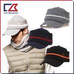 [애니카소렌스탐의 선택] 커터앤벅 남성 겨울 방한 니트 쉬보리 목가리개 귀마개 모자 - 1443-114-43