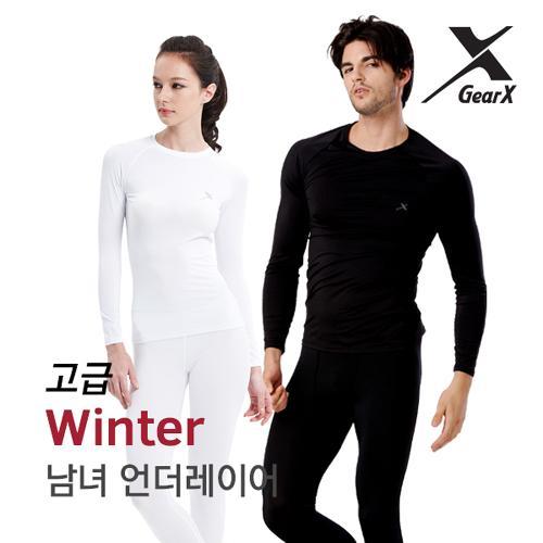 [기어엑스]겨울내의-고급 겨울용-남자 여성