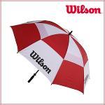 윌슨 WILSON 더블 캐노피 고강도 프레임 62인치 이중방풍 수동 골프우산 - WGA0902