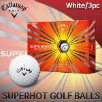 캘러웨이 SUPER HOT 3PC 골프공 골프볼 화이트