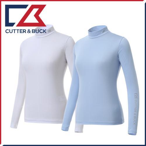 커터앤벅 여성 ICE PLUS/CREORA 원단 냉감 스판소재 기능성티셔츠 - 1451-209-46