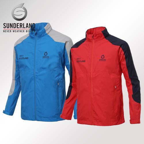선덜랜드 남성 최고급 완벽방수 스판소재 방풍 레인자켓/비옷 겸용 바람막이(후드삽입형) - 16511WR04