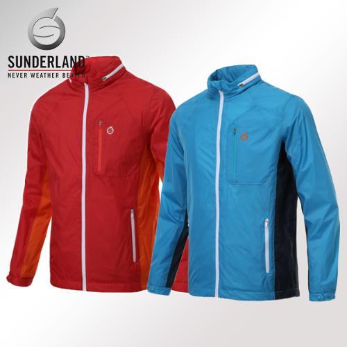 선덜랜드 남성 최고급 완벽방수 방풍 레인자켓/비옷 겸용 바람막이(후드삽입형) - 16511WR03