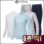 선덜랜드 남성/여성 국내생산 스판 냉감 기능성티셔츠 6종 택1