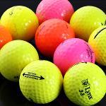 50분사은품증정 컬러볼 혼합 A급 로스트볼 비브랜드 골프공 골프볼 골프용품 필드용품