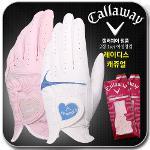 [캘러웨이정품] CG 레이디스 캐쥬얼2 여성용 골프 양손 장갑 2종 택1(화이트,핑크)
