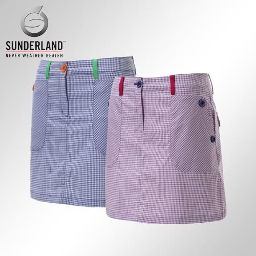 [Sunderland Of Scotland] 선덜랜드 여성 사방 스판소재 체크무늬 큐롯치마/스커트 - 16512PT21