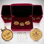 [선물용] 씨크릿 골프 SECRET JN-112 순금 VIP 볼마커세트 [단체,동호회,기업,홍보]