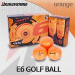 브리지스톤 15 E6 오렌지 3피스 골프볼 골프공