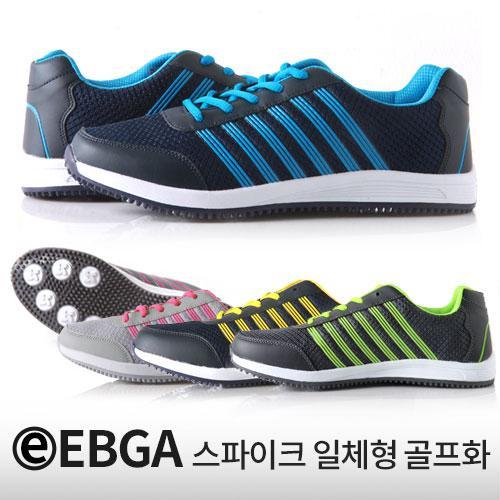 [특별할인상품] EBGA 남여 스파이크 일체형 골프화 777_1 (4가지색상)
