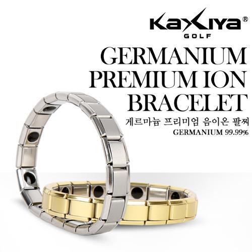 [KAXIYA] 게르마늄 스포츠 건강팔찌 2개 (실버/골드 선택)