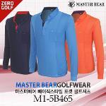 [MASTER BEAR] 마스터베어 베이직스타일 포켓 골프셔츠 Model No_M1-5B465