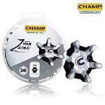 CHAMP Zarma Tour FITS PINS 챔프 자마 투어 디스크 1팩(20EA) 11560 핏 핀 시스템 골프화 스파이크징