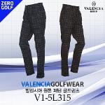 [VALENCIA] 발렌시아 원톤 패턴 골프팬츠 Model No_V1-5L315