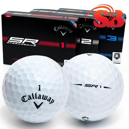 [한국캘러웨이 정품] SR3 스윙 스피드 맞춤형 골프볼 [4피스/5피스]