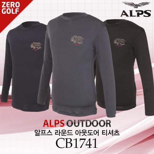 [ALPS] 알프스 라운드 아웃도어 티셔츠 Model No_CB1741