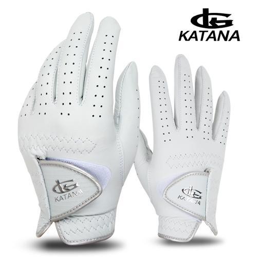 [카타나골프 정품] 카타나(KATANA) 여성용 골프장갑(양피/양손)골프용품/필드용품/연습용품