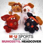 [2016년형]MU SPORTS 엠유스포츠正品 MUHC0571L 캐릭터 드라이버커버