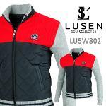 루센 풀집업 퀼팅 방풍니트 스웨터 바람막이 점퍼 LU5W802