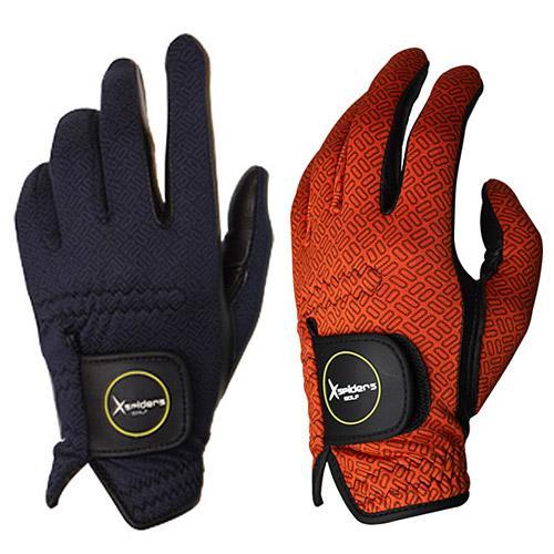 [X스파이더스] 아웃도어 / 겨울용 방한 골프장갑 양손 / 남성용 / 여성용