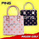 핑 여성용 도트 파우치 골프백/GK100305/GK100306/파우치백/골프파우치/골프가방/골프백/필드용품