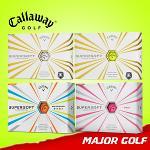 캘러웨이 슈퍼소프트 골프공/골프볼/컬러볼/캘러웨이골프공/2피스/CALLAWAY