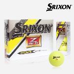 스릭슨 투어옐로우 제트스타 XV Srixon Tour Yellow Z star XV 골프공 골프볼 칼라볼 옐로우볼 필드용품