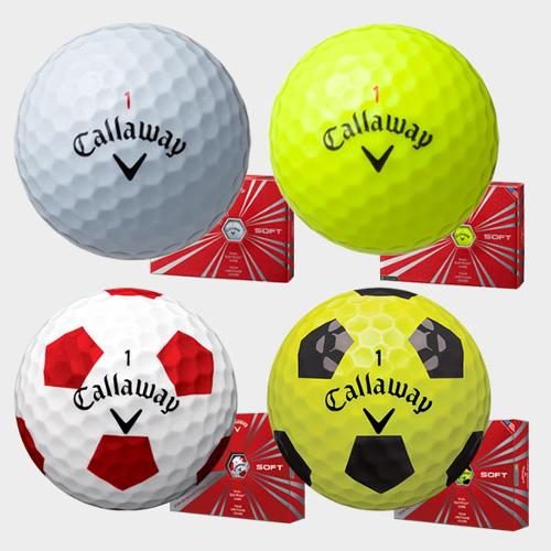 (한국캘러웨이 정품) 16 크롬소프트 골프볼 (4피스)