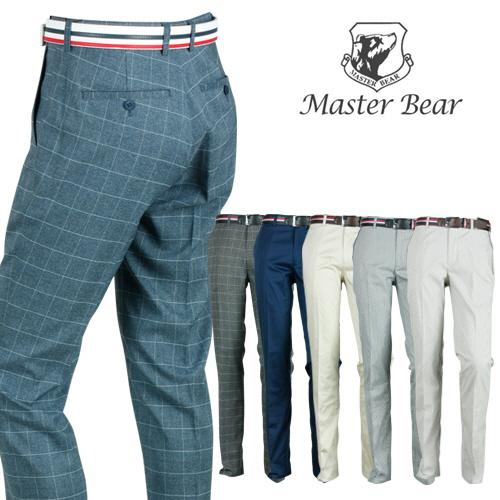 MASTER BEAR 남성 스판 골프바지