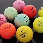 사은품증정 컬러 혼합 특B급 로스트볼 골프공/골프볼/컬러볼/컬러공/필드용품/골프용품
