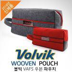 [2016년신제품]VOLVIK 볼빅 VAFS-WOOVEN 우븐 파우치백+선물용하드케이스